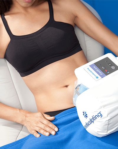 CoolSculpting - fat freezing body contouring at Allure Cosmetic Clinic.